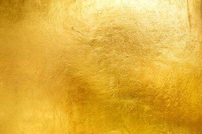 Naklejka Gold shiny wall abstract background texture, Beatiful Luxury and Elegant