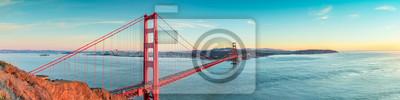 Naklejka Golden Gate Bridge, San Fransisco Kalifornia