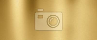 Naklejka Golden metal texture background
