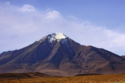 Naklejka góra wulkaniczna