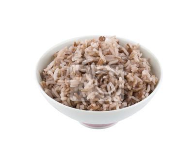Naklejka Gotowany ryż