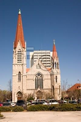 Naklejka gotycki kościół wpływ