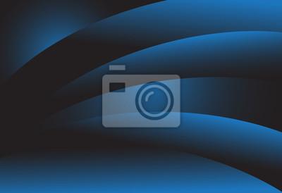 Granatowy niebieski gradient abstrakcyjna linii ciemnym tle