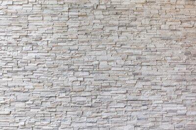 Naklejka Granit zewnątrz budynek ceglany mur.