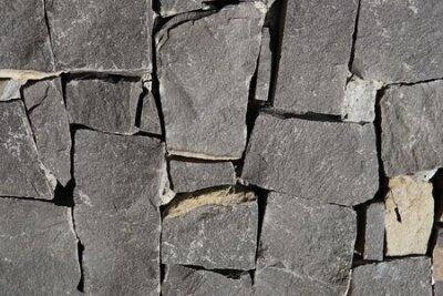 Naklejka Gray Square Pavement. Seamless Tileable Texture
