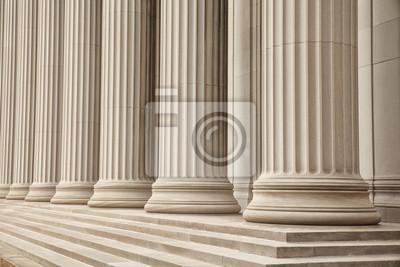 Naklejka greckie kolumny