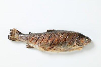 Naklejka Grilled trout