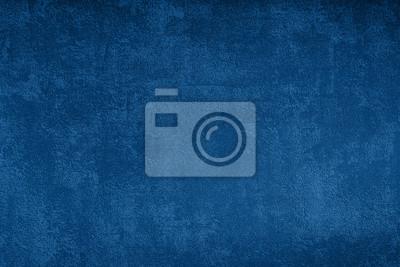 Naklejka Grunge blue texture background, classic blue color 2020