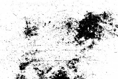Naklejka Grunge vector texture. Abstract cracked background. Aged and weathered broken surface. Dirty and damaged. Detailed rough backdrop. Vector graphic illustration.