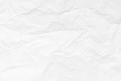 Naklejka Grunge wrinkled white color paper textured background