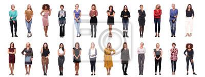 Naklejka Grupa kobiet