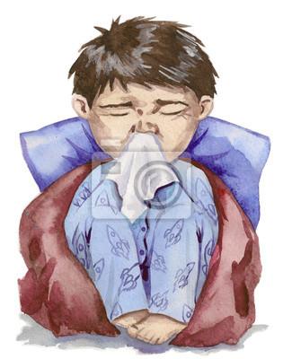 Naklejka grypa