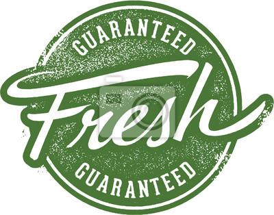 Naklejka Gwarantowana Fresh Wytwórnia wyrobów