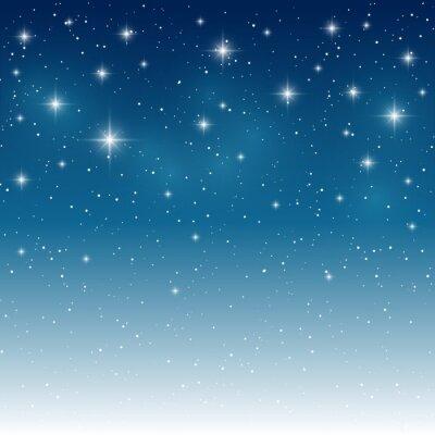 Naklejka Gwiazdy błyszczące tła dla projektu
