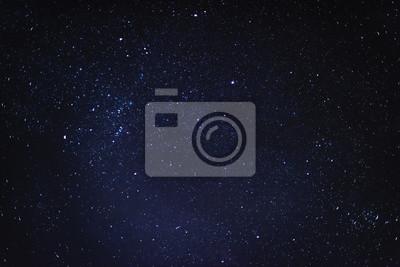 Naklejka Gwiaździste niebo w nocy