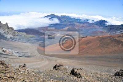 Naklejka Haleakala Crater - Maui, Hawaii