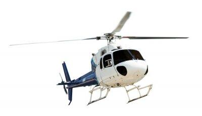 Naklejka Helikopter z śmigła pracy