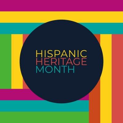 Naklejka hispanic heritage month