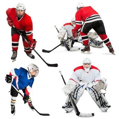 Naklejka Hokej na lodzie, lód, Łyżwiarstwo.