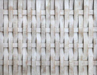 Naklejka Holzgeflecht