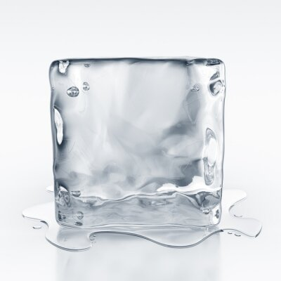 Naklejka icecube