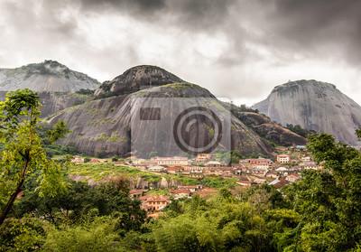 Naklejka Idanre Hills, Nigeria