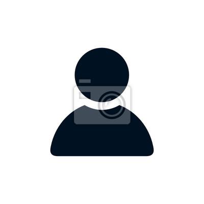 Naklejka Ikona monochromatyczny