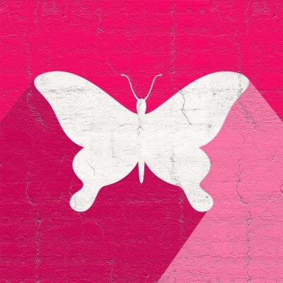 Naklejka ikona motyl