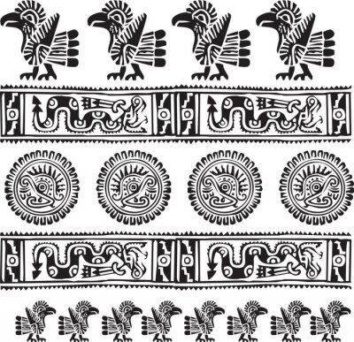 Naklejka Ikonę amerykańskiej kultury . Edycji ilustracji wektorowych