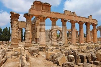 Il Tempio di Zeus Cirene - Libia