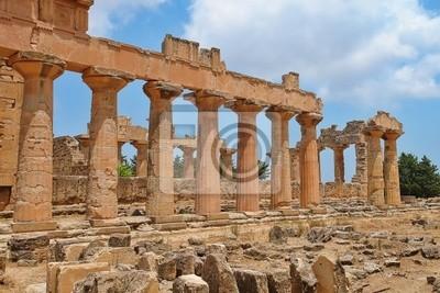 Naklejka Il Tempio di Zeus Cirene - Libia