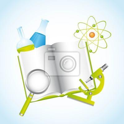 Naklejka Ilustracja chemiczne