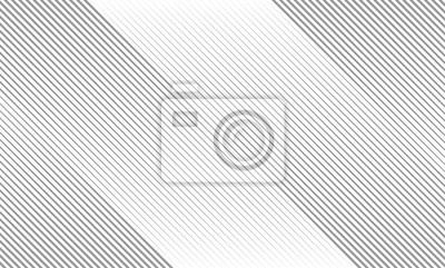 Naklejka Ilustracja wektorowa szary wzór linii abstrakcyjne tło. EPS10.