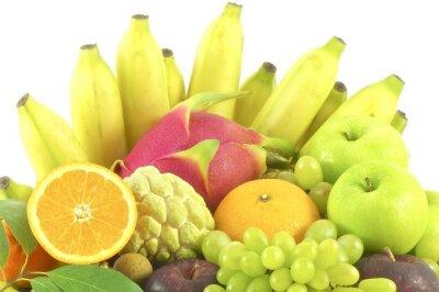 Naklejka Izolowane grupy na owoc