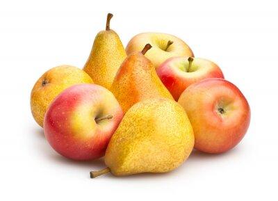 Naklejka jabłek i gruszek