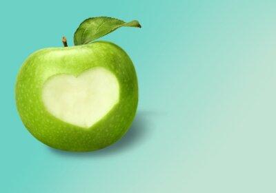 Naklejka Jabłko.