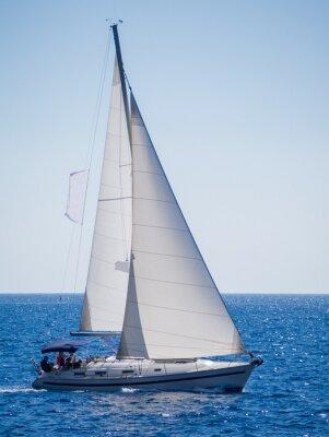 Naklejka Jachty w Lefkada, Grecja