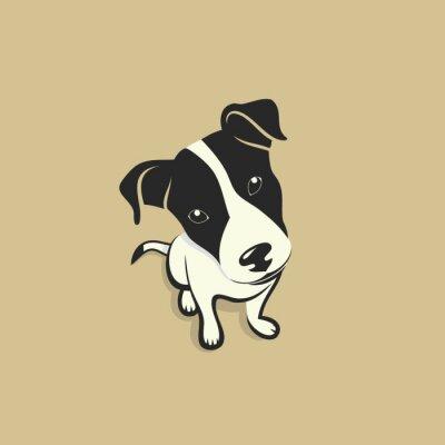 Naklejka Jack Russell Terrier
