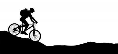 Naklejka Jazda na rowerze - 11