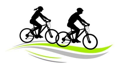 Naklejka Jazda na rowerze - 9