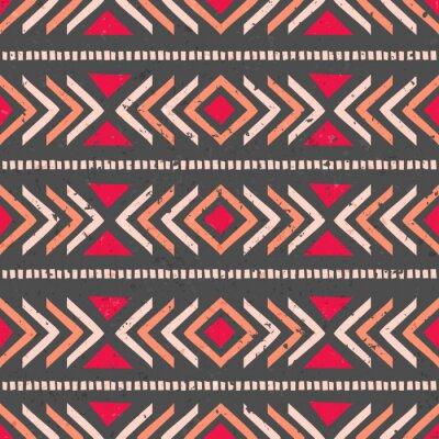 Naklejka Jednolite tło etniczne