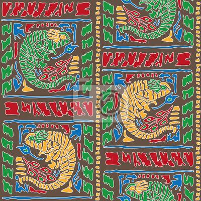 Jednolite tło z Chameleon Wzór