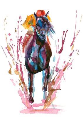 Naklejka jeździec