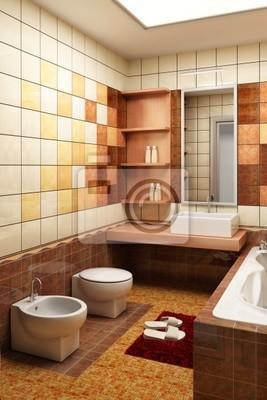 Kafelki Projekt łazienki Naklejki Redro