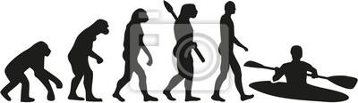 kajak ewolucja