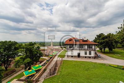 Naklejka Kalemegdan park, Belgrad, Serbia