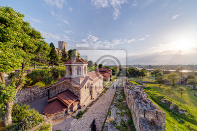 Kalemegdan twierdza Belgrad i parku