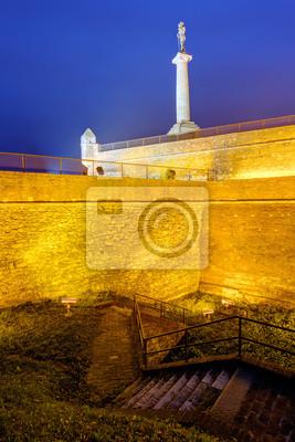 Kalemegdan twierdzy w Belgradzie i parku
