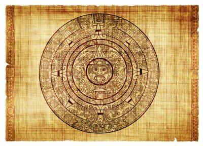 Naklejka Kalendarz Majów