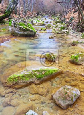 Naklejka Kamienie i przepływu